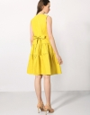 Flare Dress With Gathered Skirt