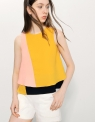 Layered Color Block Top