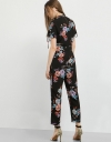 Dark Floral Jumpsuit