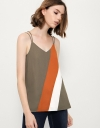 Colorblock Swing Cami