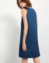V-neck Dress With Side Bow Detail