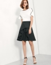 High Waist Skirt With Ruffle Detail