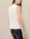 Origami Pleated Front Top