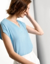 Rayon V-Neck Top