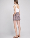 Pocket Front Tweed Shorts