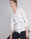 Long Sleeved Belted Top