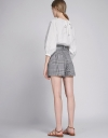 Pocket Front Belted Shorts