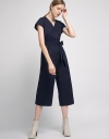 Wide-Leg Jumpsuit With Elasticated Waist