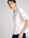 Sleeved Lace Layered Top