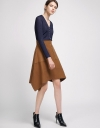 A-Line Skirt With Side-Vent Hem