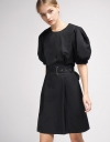 Sleeved Belted Shift Dress