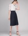 Skirt With Zipper Front