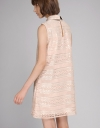 Lace Dress With Tied Neckline
