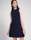 A-Line Dress With Pocket Detailing