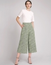Tweed Wide-Leg Pants