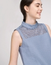 Sequined Ribbed Dress With Cut-Out Detail