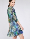 Wrap Floral Dress With Elasticated Waist