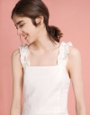 Ruffled Strappy Top