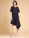 Asymmetric Oversized Shift Dress