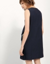 Sleeveless Dress With Knot Detail