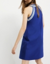 Colored Ribbed Dress