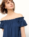 Off-Shoulder Ruffled Dress