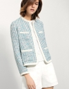 Tweed Jacket With Patch Pocket