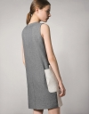 Cocoon Dress With Origami Pockets